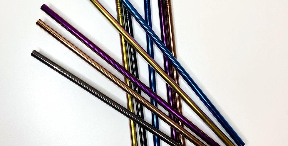 Stainless Steel Straws - Straight