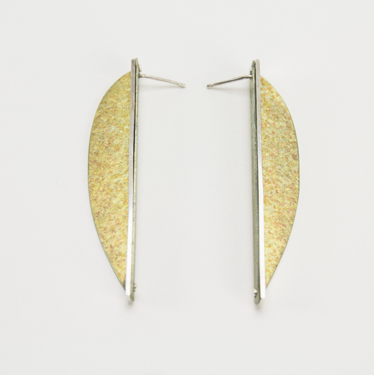 Long Curve Matched Pair - Golden