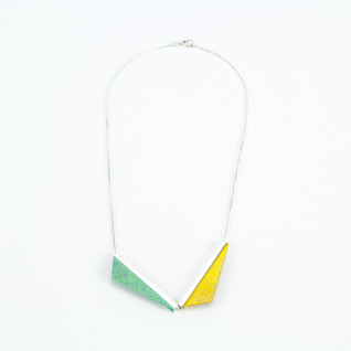 Double Kite Necklace - Earthling + Beam