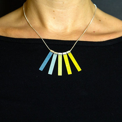 Beam Necklace - Deep to Beam Fade