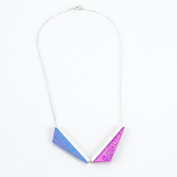 Double Kite Necklace- Nebula and Glow