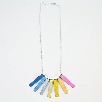 7-Beam Necklace - Deep to Glow