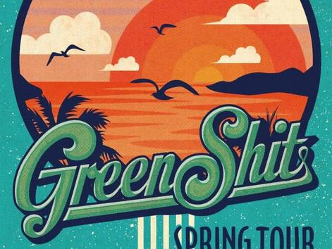 4.29(sut)『GreenShit SPRINGTOUR2017』in206TSUMAMU