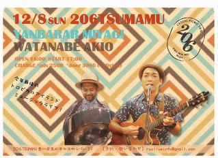 12.8(日)OKINAWA TROPICAL MUSIC in高松 206 TSUMAMU