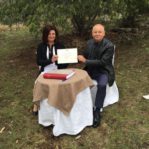 Larry and Barbara, Molesworth, 2/10/2016
