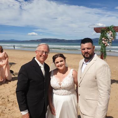James & Claire, Clifton Beach