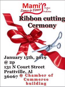 Mami's Dance & Fitness to celebrate ribbon cutting Jan  15