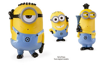 Uni protopenedes 3D model minion