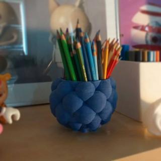 barcelona3Dceramics LDM porcellana blava