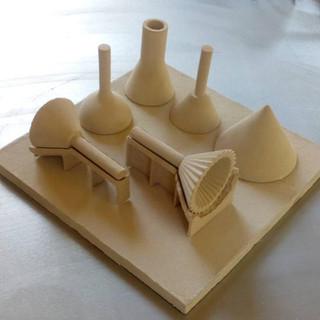 barcelona 3D Ceramics / gres / BinderJetting / Ingnieria