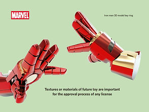 Marvel protopenedes 3D model ironman