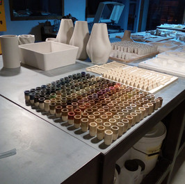 barcelona 3D Ceramics / Colores/ LDM /