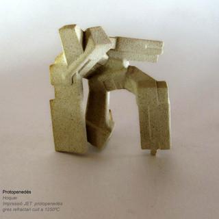 barcelona 3D Ceramics /  gres / BinderJetting / Art