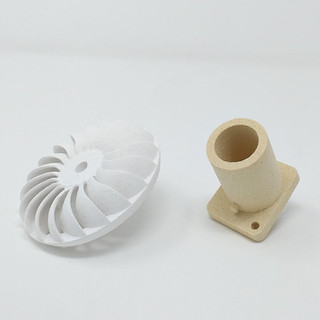barcelona 3D Ceramics / Alumina, gres / BinderJetting / Ingnieria