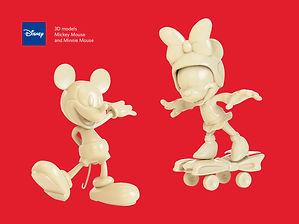 disney protopenedes 3D model
