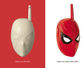 Marvel protopenedes 3D model spiderman