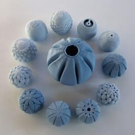 barcelona 3D Ceramics / Porcelana azul / LDM / arte
