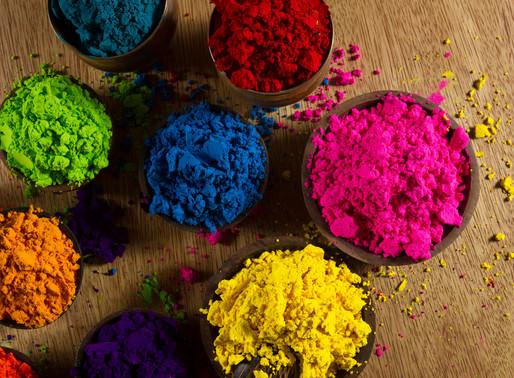 Principais Pigmentos usados para Coloração