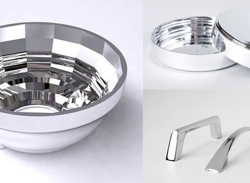 Metalização à Vácuo de Peças Plásticas