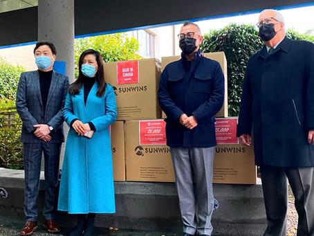 25,000 Masks for Richmond Hospital Foundation
