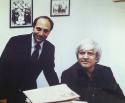 Joe Palanzo & Ed Parker, 1985