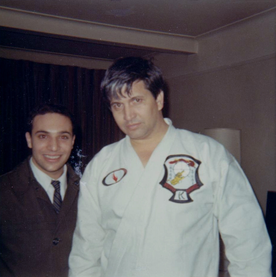 Joe Palanzo & Ed Parker, 1964