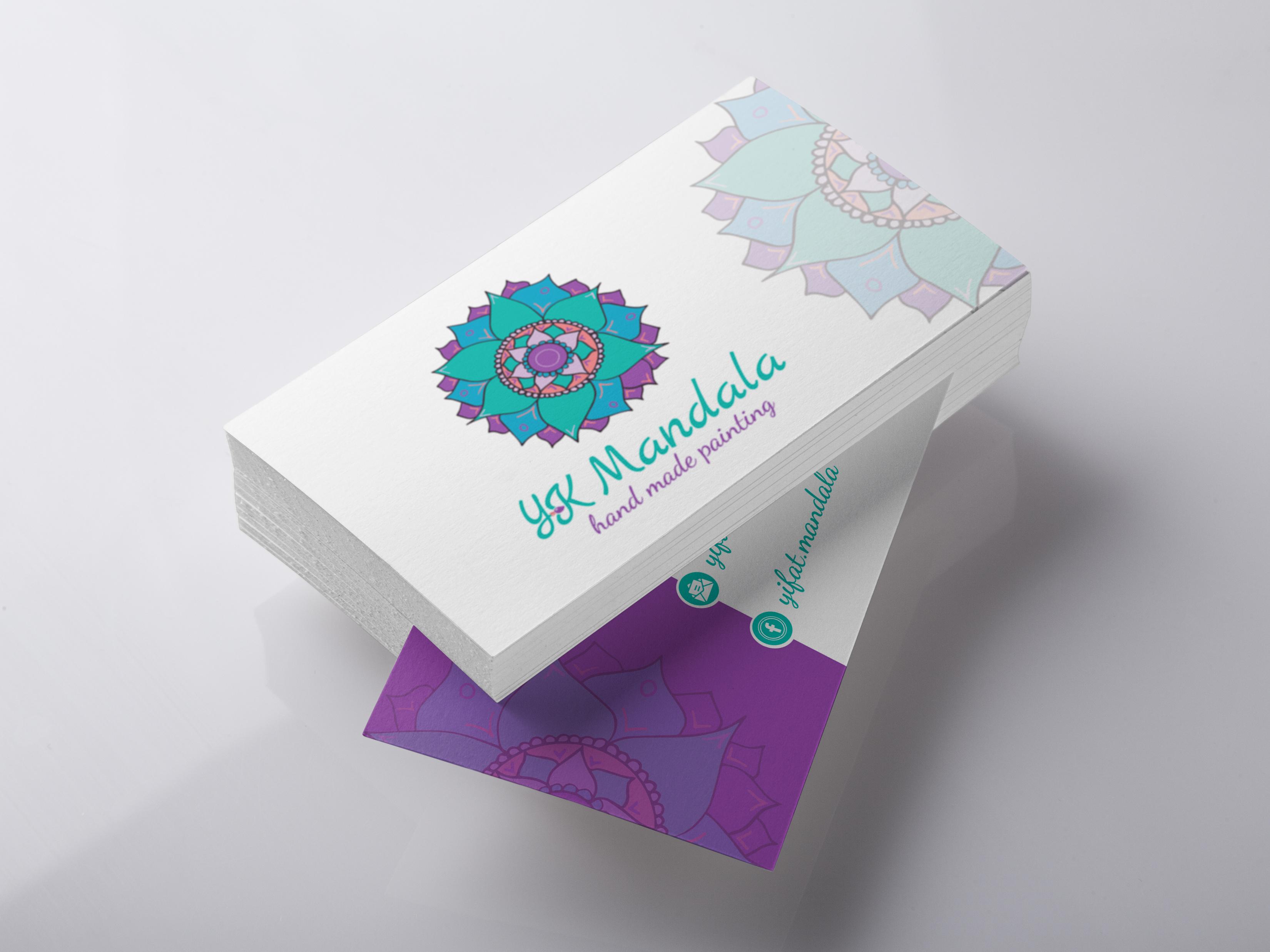 כרטיס ביקור לאומנית מנדלה