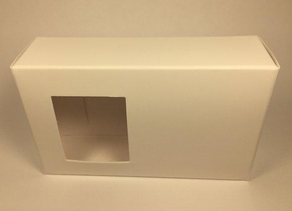 Cajita Blanca para Jabones Artesanales