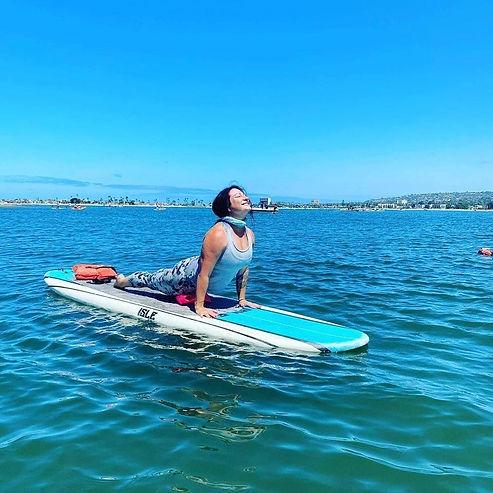 San Diego SUP Yoga/Bootcame Teacher