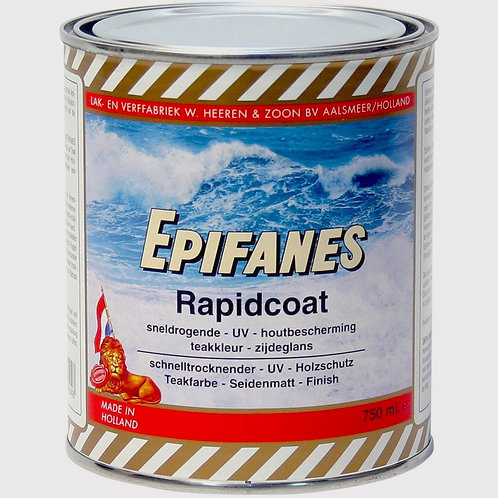 Epifanes Rapid Coat Semigloss Marine Varnish With Tint