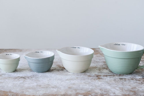 Measuring Cup Set Ceramic With Handle