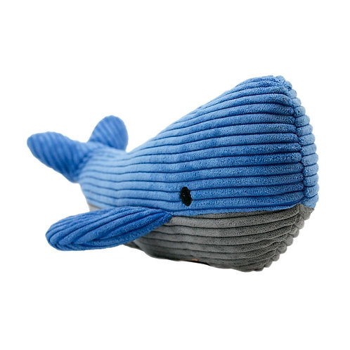 Tall Tails Plush Whale Squeak Toy