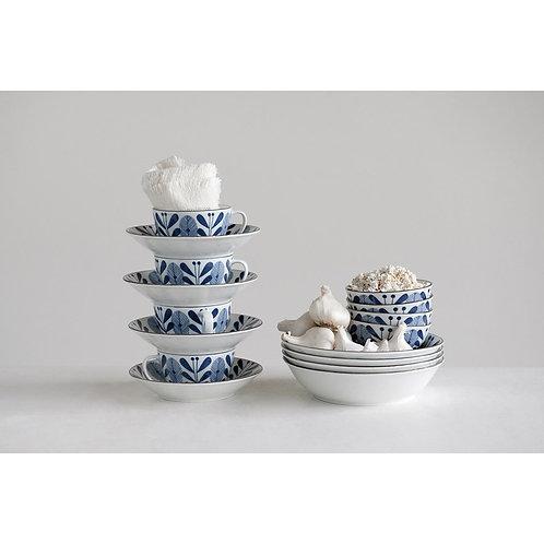 Porcelain Bowl Blue And White