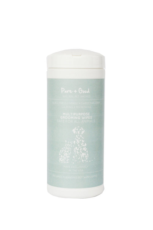 Pure + Good Calming Wipes 50 Count (Fragrance Free)