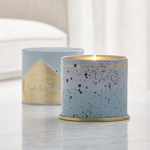 Essentials Candle In Decorative Tin