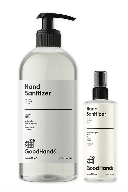 Good Hands Sanitizer 32 oz Gel  PumpWith