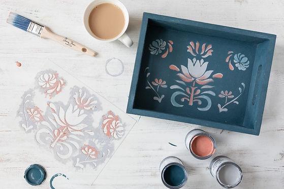 Annie Sloan Painting Kit Video Tutorial Rowe Spurling Paint Company Bermuda