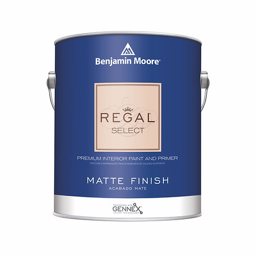 Benjamin Moore Regal Select Interior Matte Wall Paint