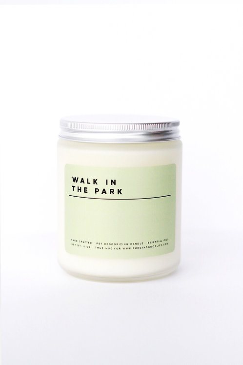 Pure + Good Candle Walk In The Park