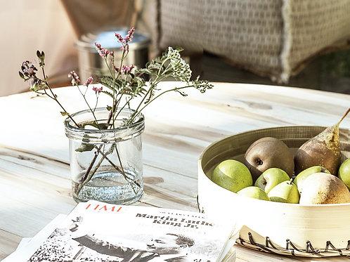 Clear Glass Vase (Medium)