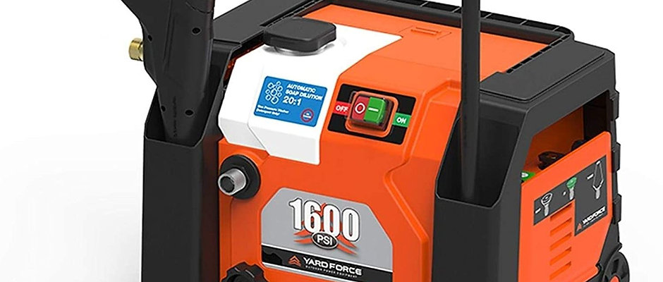 Yard Force 1600 PSI Electric Power Washer