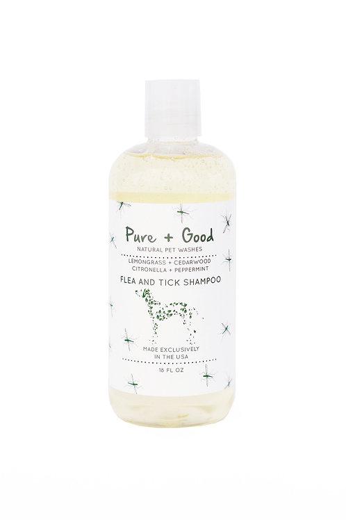 Pure + Good Flea And Tick Dog Shampoo