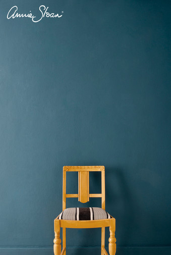Arles-dining-chair-Aubusson-Blue-Wall-Pa