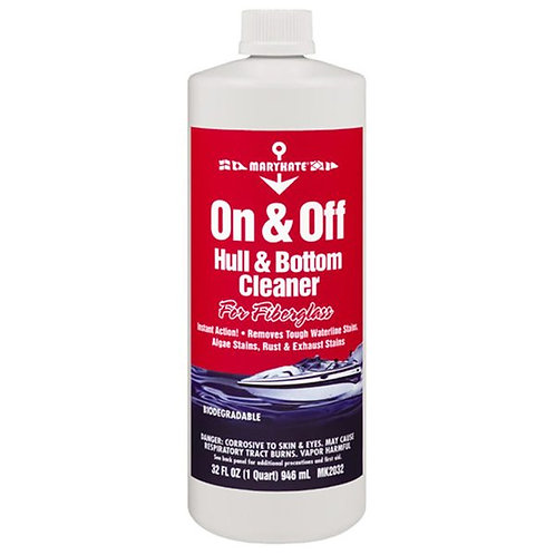 On & Off Hull Cleaner