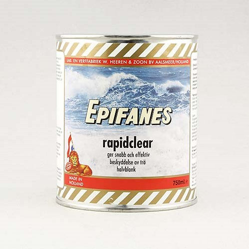Epifanes Rapid Clear Semigloss Marine Varnish