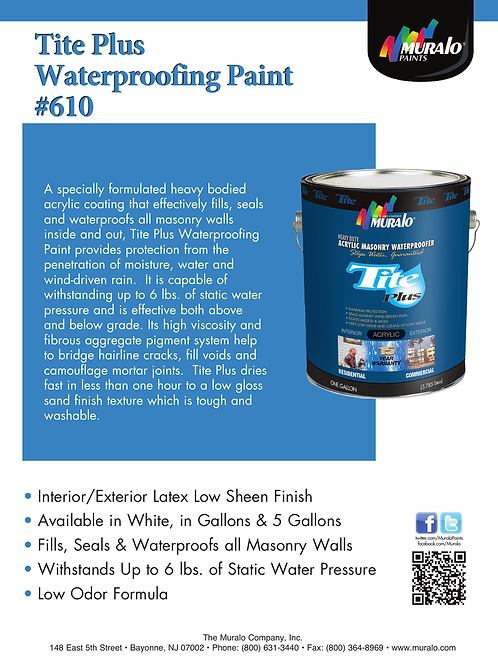 Tite Waterproofing Primer