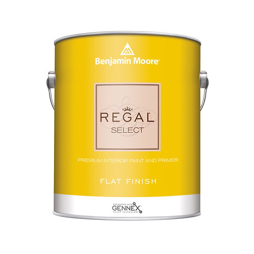 Benjamin Moore Regal Select Interior Flat Wall Paint