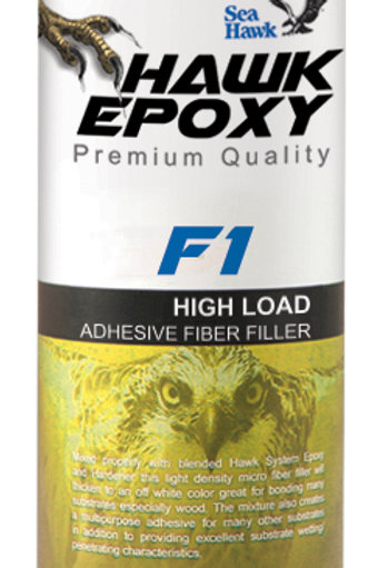Sea Hawk Epoxy F1 High Load Adhesive Fiber Filler
