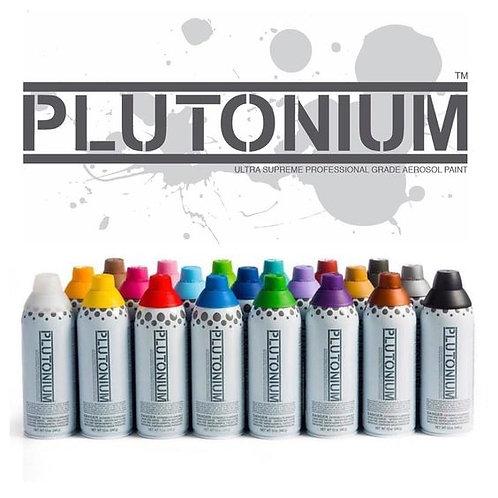 Plutonium Professional Grade Spray Paint (Satin Finish)