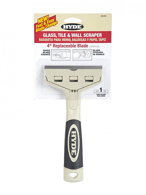 "Hyde 4"" Glass, Tile and Wall Scraper"